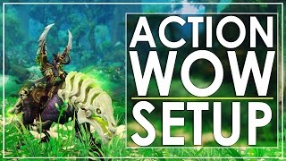 World of Warcraft - 'Action Edition': Walkthrough, Setup & Gameplay
