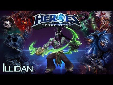 видео: heroes of the storm - illidan 23.07.14 (2)