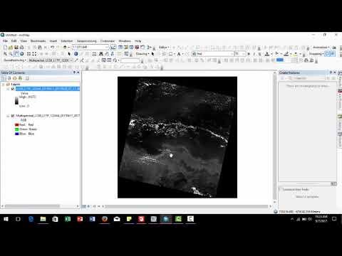 Pansharpening Brovey Transform ArcGIS 10 5