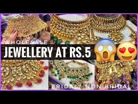 e53217b28bc41 Jewellery Wholesale Market In Sadar Bazar | Bridal Jewellery ...