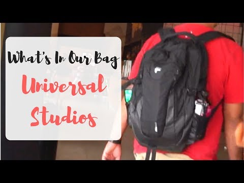 What I Pack In My Bag For Universal Studios