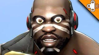 Heeerreeee's DOOMFIST! Overwatch Funny & Epic Moments 508
