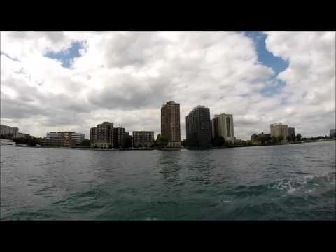 Detroit River Tour - 2014 [HD] (34 minutes)