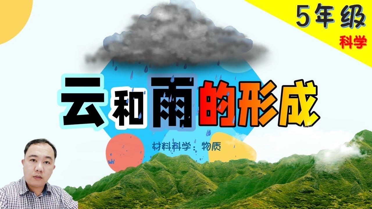 【云和雨的形成】| 【物质】PART 4/4 | 5年级 | KSSR  | TSLAU