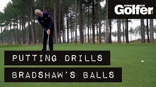 Try this two-ball drill to improve your putting