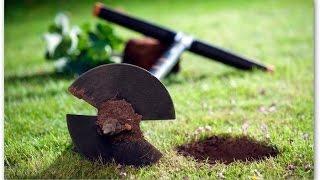 Бурение скважин под забор садовым буром(, 2014-08-17T18:38:46.000Z)
