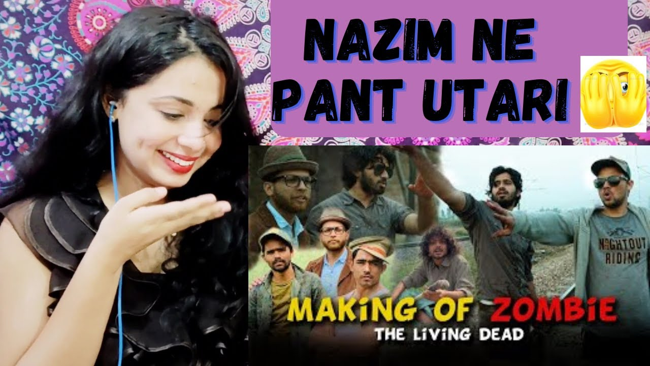 Making Of ZOMBIE - The Living Dead | Round2Hell | R2H | Reaction | Nakhrewali Mona