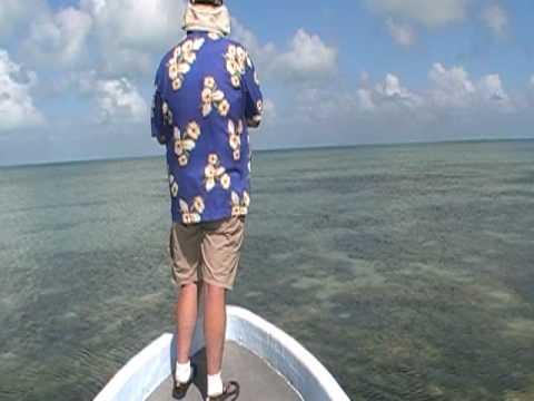 Walter Bonefishing Belize