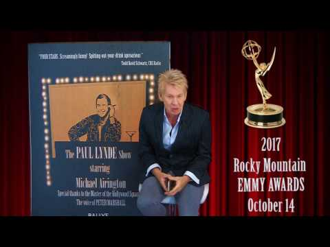 NEW video with Emmy Awards Host Michael Airington