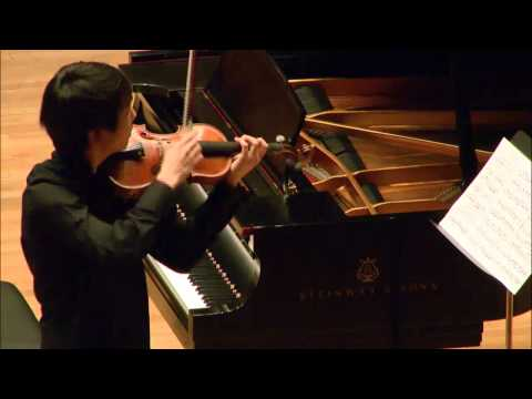 Stephen Kim -- Menuhin Competition  -- Senior Semi-Finals