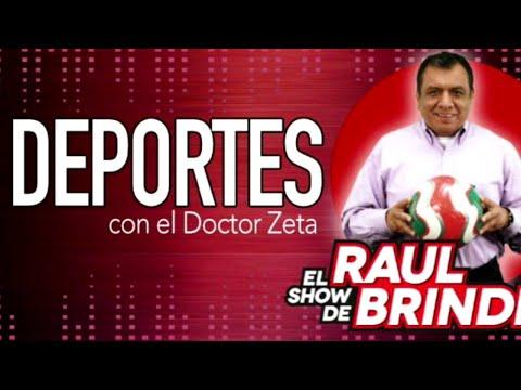 SEGUIMOS EN VIVO CON TODA LA INFORMACION DEPORTIVA Dr. Z Pita Pita EN EL SHOW DE Raul Brindis