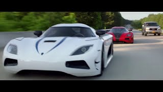 The Koenigsegg Race - Koenigsegg Agera R - from the movie Need For Speed (2014)