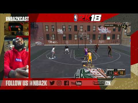 NBA 2K18 - The Game's Road to 99