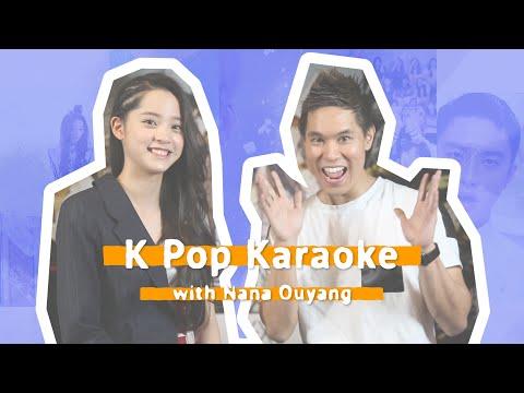 K-Pop Karaoke with Chinese musician/actress/fashion icon, Nana Ou-Yang