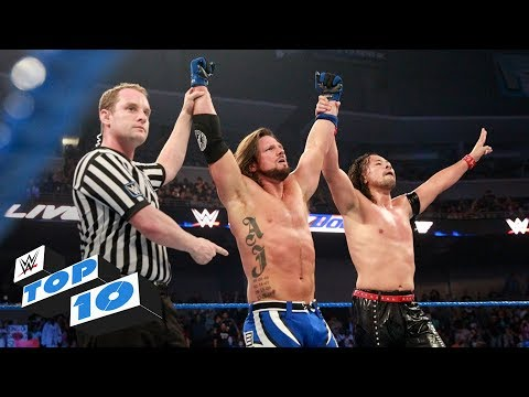 Thumbnail: Top 10 SmackDown LIVE moments: WWE Top 10, May 23, 2017