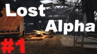 Прохождение сталкер Lost Alpha (часть 1) - Американец Сидорович