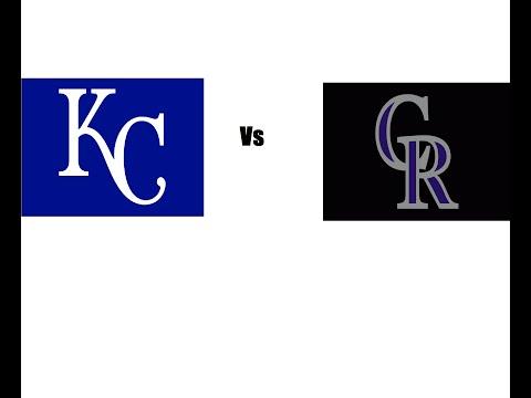 Kansas City Royals vs Colorado Rockies