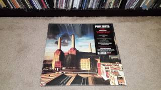 Unboxing - Pink Floyd Animals Vinyl LP Remastered 2016 (PFRLP10)