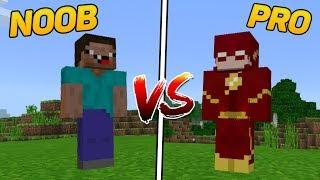 NOOB vs PRO NO MINECRAFT PE!