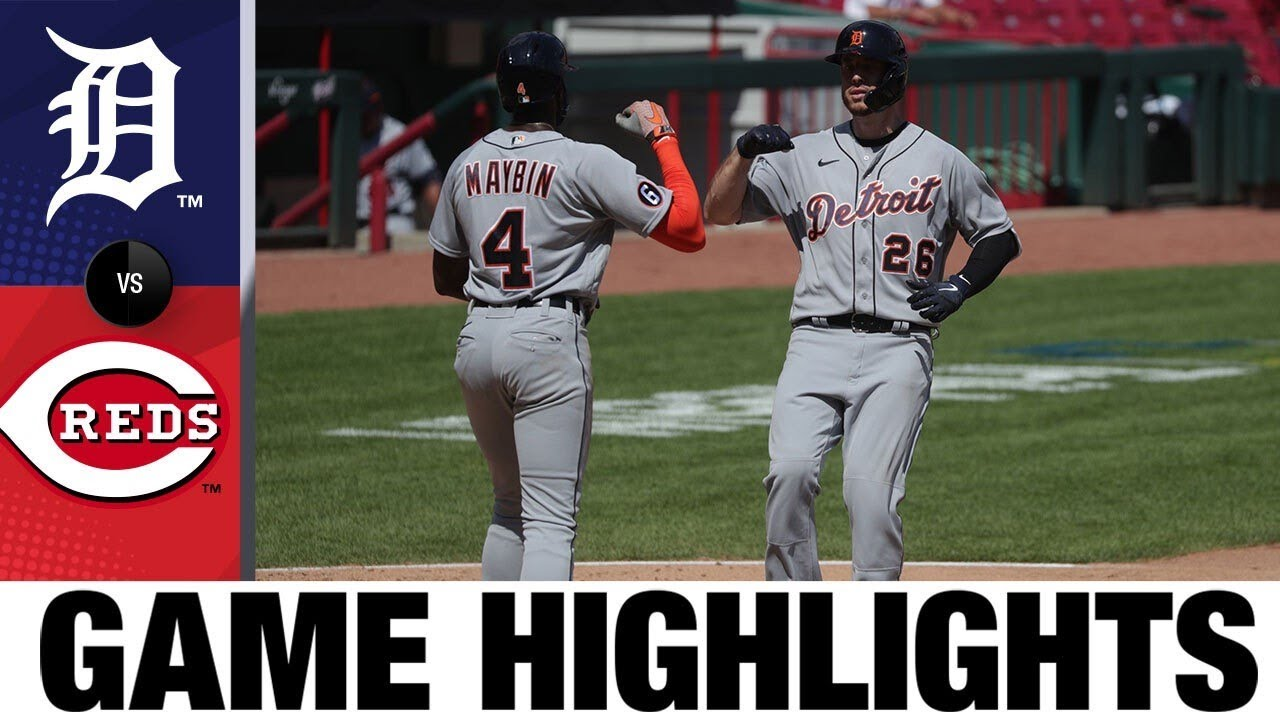 C.J. Cron hits clutch homer to lead Tigers | Tigers-Reds Game Highlights 7/26/20
