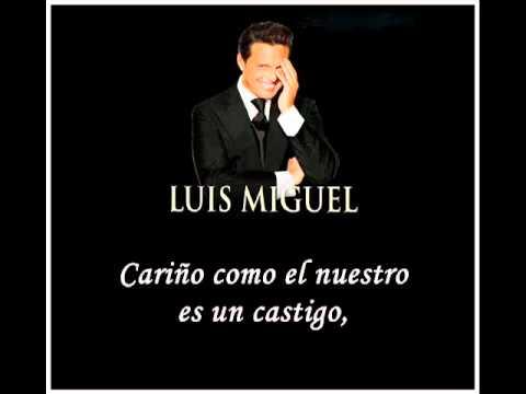 Encadenados  Luis Miguel Letra   YouTube
