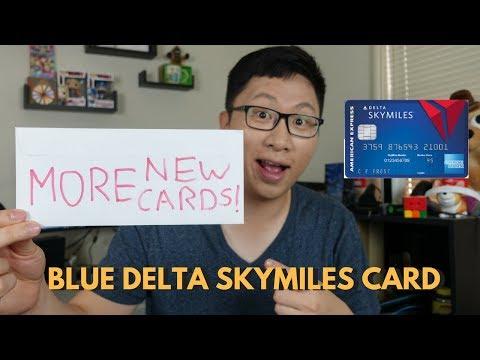 New Blue Delta Skymiles Card No Af 10k Bonus