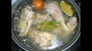 Холодец из свиной ножки,рульки и курицы.Вкусный холодец.Студень.