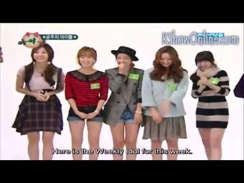 ENG SUB GIRL'S DAY weekly idol ep 18 111911