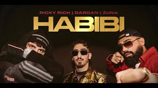 Ricky Rich, Dardan & Zuna - Habibi (Official Audio)