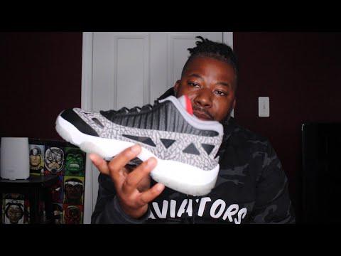 Air Jordan 11 Low IE Black Cement Review & On Feet!