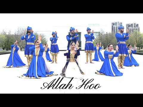 Allah Hoo | Sufi Kathak Fusion Choreography | Dance With SL & Alhamra Unplugged