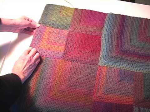 How To Make A Mitered Square Afghan Part 2 Youtube