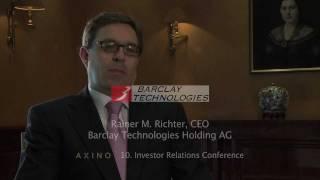 Barclay Technologies Holding AG - Die neue Dimension der Datensicherheit