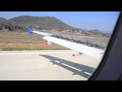 Lao Airlines [VTE-LPQ] Landing