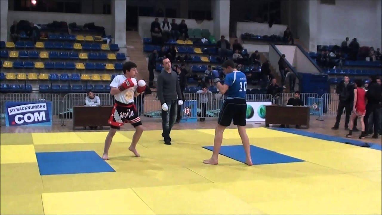 Khridoli fighter Vazha TsiptauriFinal fightUshu_Sanda Tbilisi Open Championship 20130303