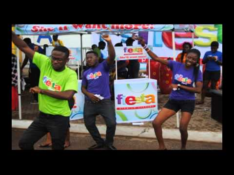 Azonto Fiesta Remix ft Raquel.....(DKT International, Ghana)