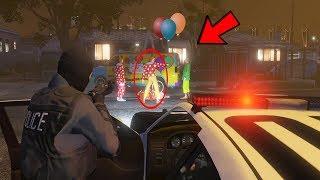 Clowns sammeln sich in GTA 5! Greifen uns an!