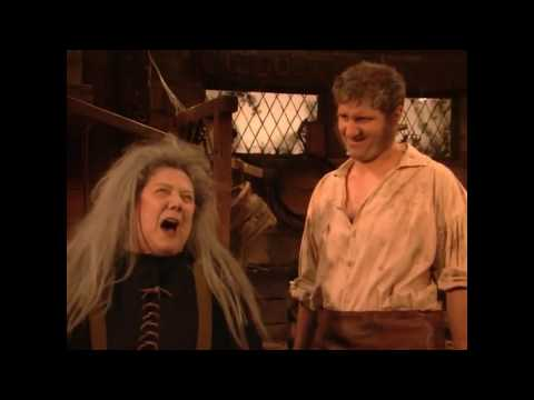 Married with Children- AL, as Seamus Mc Bundy insults the witch