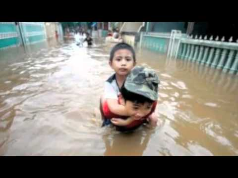 Indonesia Under Water,Pole Shift