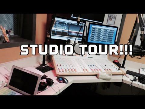 Radio Station studio tour!