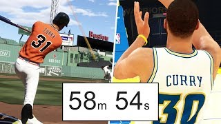 Can Steph Curry Hit A Home Run Before He Makes A Full Court Shot?