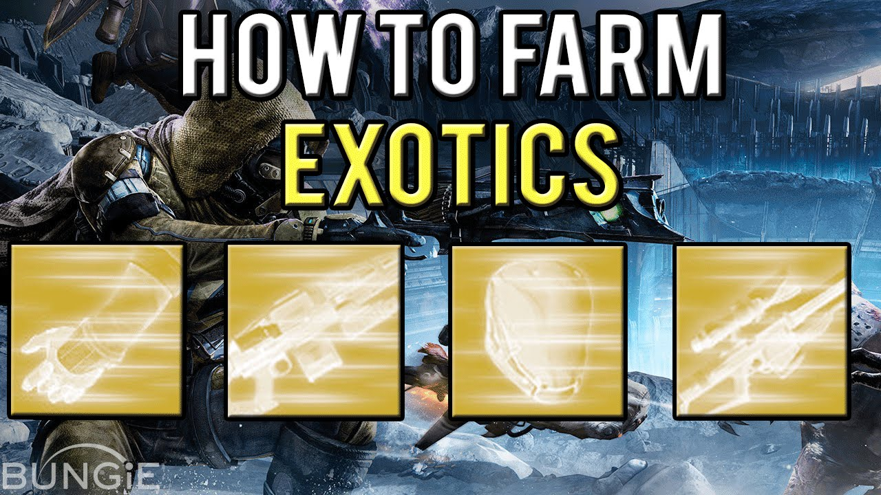 how to get exotics in destiny 1