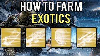 Destiny: How To Get Exotics! (Exotic Engram Farm)