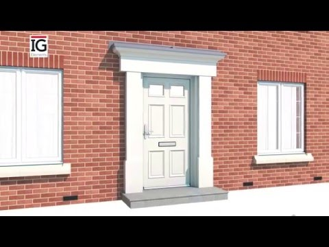 How To Install A GRP Door Surround   IG Elements