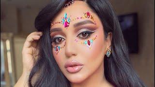 Тюнюнгуюсь с Гоар красивый яркий макияж от Гоар Аветисян восточный макияж от Goar