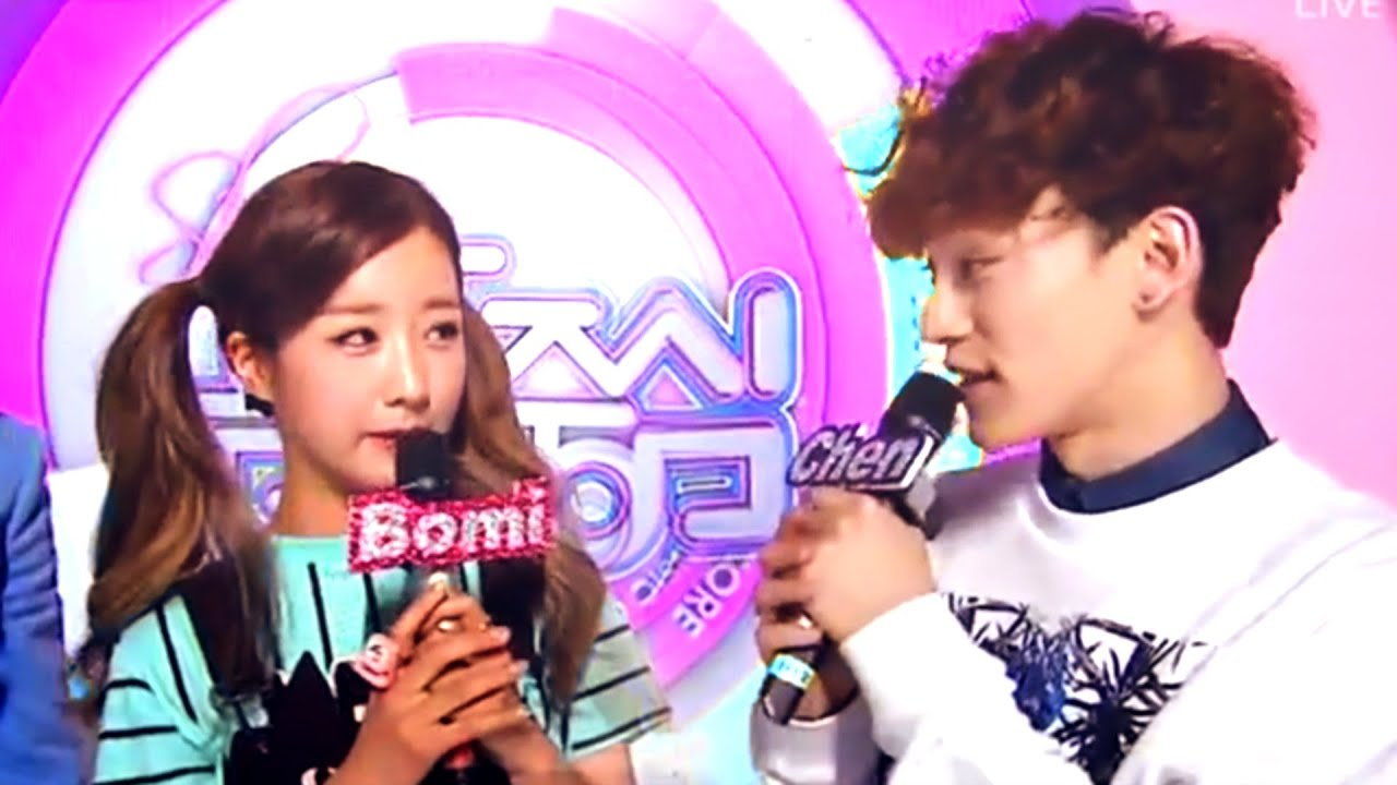 Exo chen dating bomi