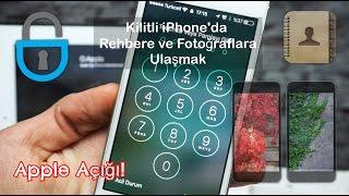 iPhone'da Ekran Parolasını Kaldırmadan Fotoğraflara ve Rehbere Erişmek (Apple Açığı - iOS 10.2)