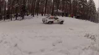 Senska Rallyt 2013 Fredriksberg Petter Solberg
