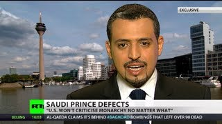 Saudi prince defects: