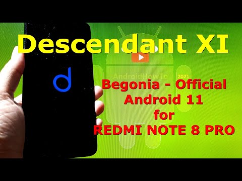 Descendant XI Android 11 Official for Redmi Note 8 Pro Begonia - Custom ROM